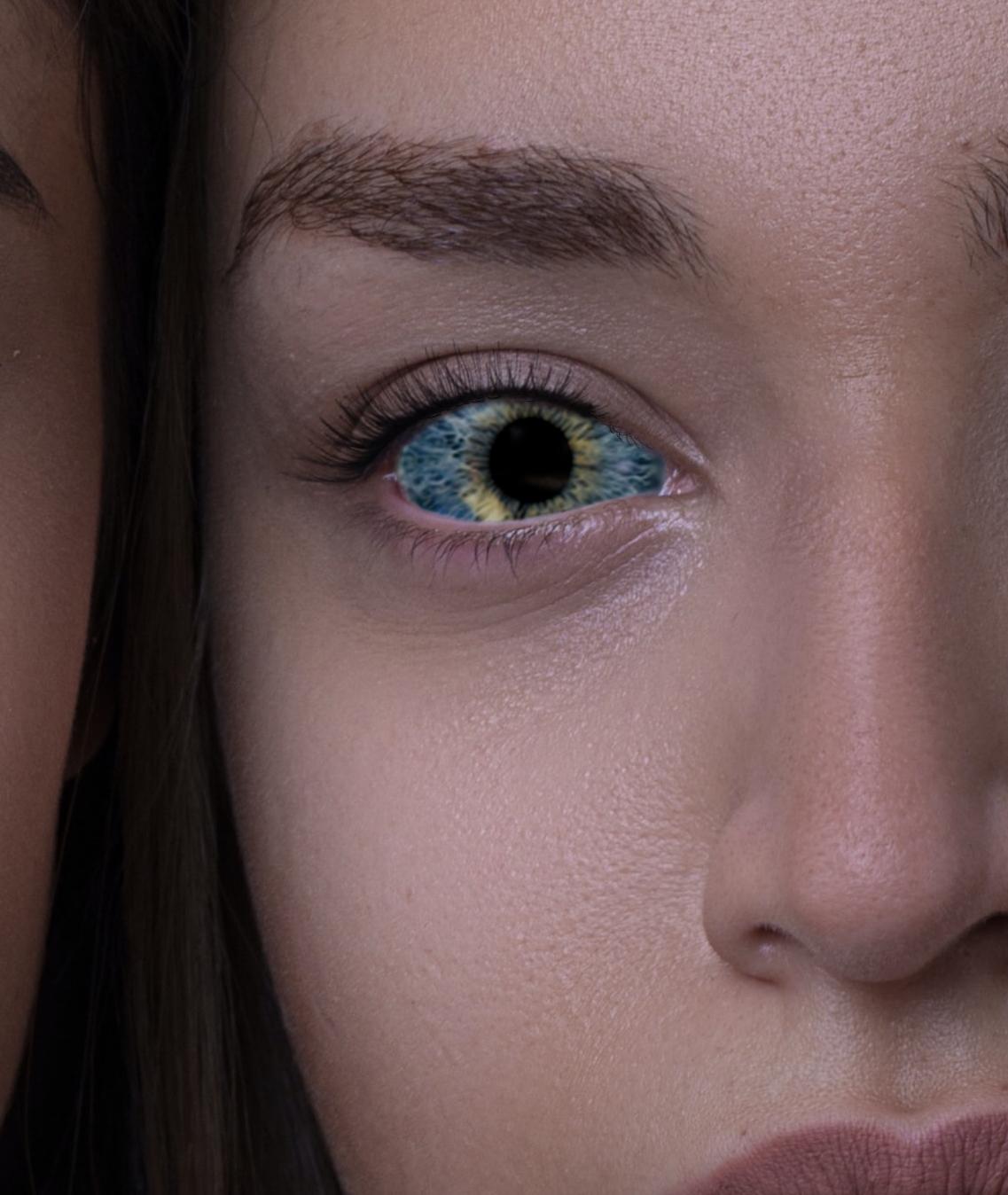 update!眼の中の瞳の大きさをそこまで変えるか!というくらい変える方法【フォトショップチュートリアル】