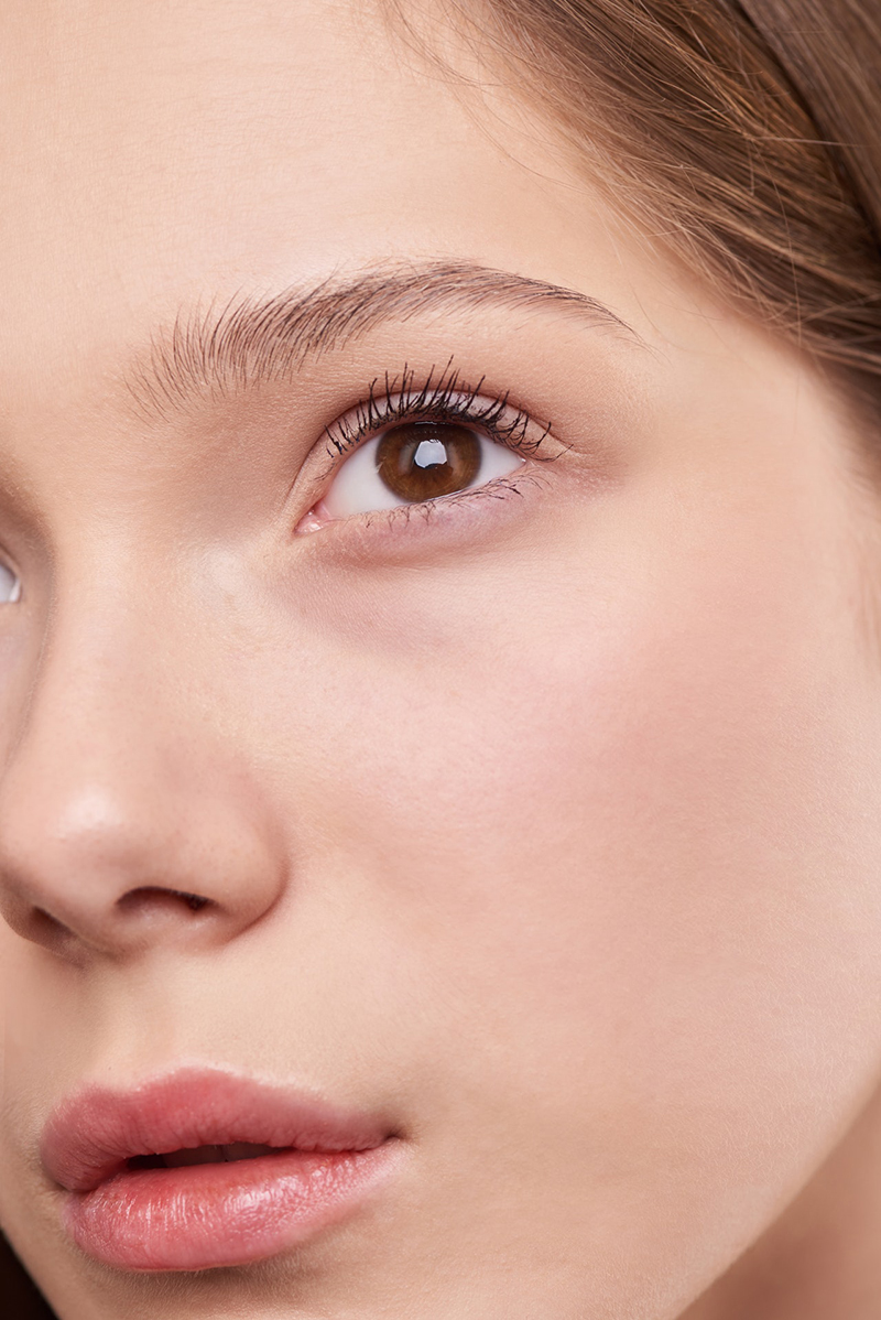 デジタルメイクアップ!!眉毛とまつ毛を自然に描く方法【フォトショップチュートリアル】